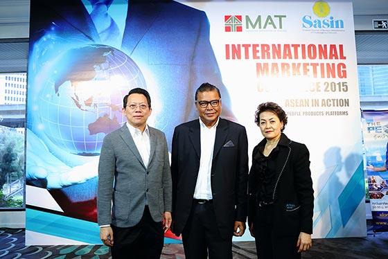 """""""International Marketing Conference 2015"""" งานประชุมการตลาดระดับนานาชาติครั้งยิ่งใหญ่"""