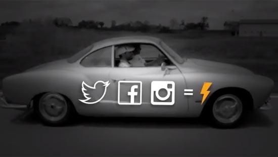 เดินทางไปด้วยพลังขับจาก Social Media