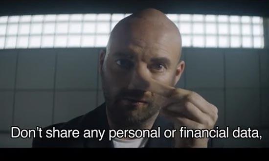 แอดโฆษณาเตือนให้ระวังข้อมูล<br/>ทางการเงิน